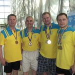 Рівненські ветерани здобули десяток нагород на чемпіонаті України з плавання