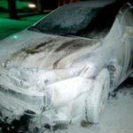 У Рівному поліцейські затримали підозрюваного у підпалі автомобіля