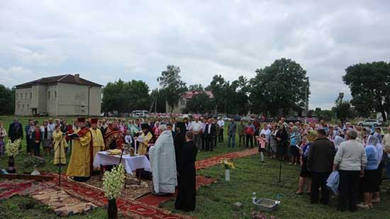 На Рівненщині постане новий храм