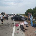 Автівка з жителями Рівненщини потрапила у жахливу ДТП (ФОТО, ВІДЕО)