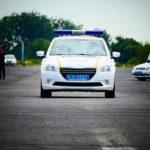У Рівному визначено кращих поліцейських-водіїв поліції охорони