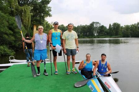 Микола Синюк став чемпіоном України з параканое