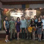 Рівненські «кіборги» відвідали виставку картин «Аеропорт»