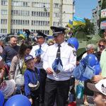 У свій День народження поліцейські влаштували свято для рівнян та гостей області