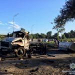 У Рівненщині смертельне зіткнення: один водій згорів, інший – у реанімації