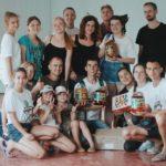 У Гощі працювали волонтери зі сходу України