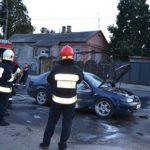 У Рівному під час руху загорівся легковий автомобіль