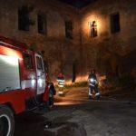 На території Клеванського замку була пожежа