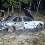 Поблизу Сарн згорів автомобіль