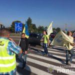 На трасах де проводять акцію активісти заторів немає