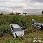 На Рівненщині внаслідок зіткнення трьох авто постраждали двоє осіб