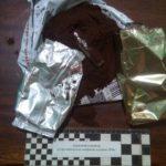 В упаковці кави знайшли шприц з наркотиками