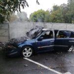 У Рівному на Київській горів автомобіль