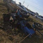 На Рівненщині нетверезий водій-комунальник перекинувся на тракторі