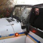 На Рівненщині люди у балаклавах та з палицями у руках чинили опір поліцейським