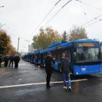 На вулиці Рівного вирушать ще 7 нових тролейбусів