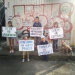 Рівненські діти просять дорослих повернути чисту річку та озеро (ВІДЕО)