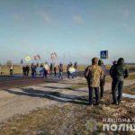 У Сарненському районі через перекриття автодороги «Київ-Ковель-Ягодин» рух транспорту ускладнений