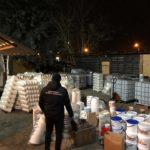 На Рівненщині припинили діяльність підпільного цеху із виготовлення хімічної побутової продукції