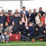 В Рівненському районі відкрили нове футбольне міні-поле