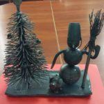 Кована, ручної роботи ялинка прикрасила святкову виставку