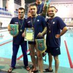 Команда поліцейських Рівненщини здобула першість у відкритому чемпіонаті з плавання