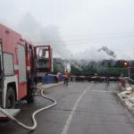 У Рівненському районі вогнеборці запобігли пожежі у тепловозі