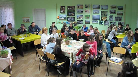 Юні натуралісти влаштували благодійний вечір на підтримку хворого хлопчика