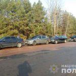 На Рівненщині у ДТП травмувалося двоє осіб, пошкоджено шість авто та мотоцикл