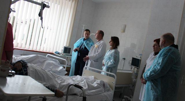 У Клеванському госпіталі розглядають можливість створення Центру психологічної допомоги учасникам бойових дій