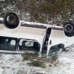 На Сарненщині автомобіль з'їхав у кювет та перекинувся