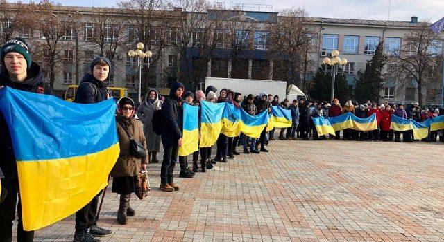 У Рівному відбулися урочистості з нагоди 100-річчя Соборності України