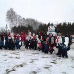 На Рівненщині триває зимовий конкурс «Сніговик FEST»