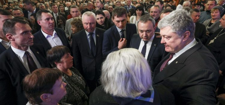 Петро Порошенко говорив з мешканцями Здолбунівщини про українську мову