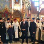 Президентразом із Патріархом Філаретом привезли до Рівного Томос
