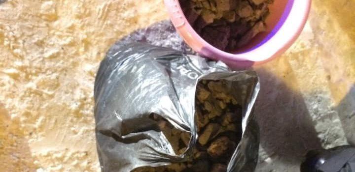Патрульні виявили близько 14 кілограмів бурштину