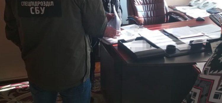 У Рівному СБУ викрила керівництво судової адміністрації на розкраданні бюджетних коштів та майна