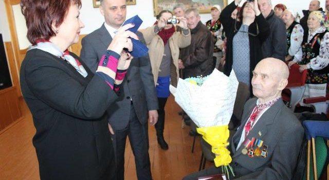Високу державну нагороду отримав воїн УПА, сарненчанин,  Йосип Крот