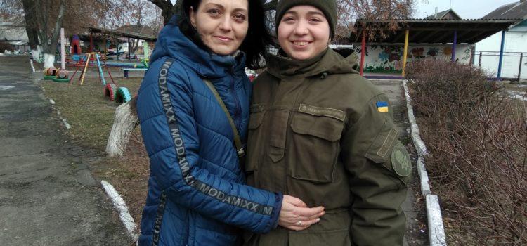 Мама нацгвардійки Олександри Ковальчук: «Горджуся своєю донькою»