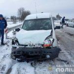 На Рівненщині унаслідок двох ДТП травмувався пасажир і пішохід