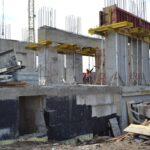 Масштабне будівництво спорткомплексу на Макарова: вже будують перший поверх