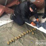 На Рівненщині правоохоронці виявили схрон боєприпасів