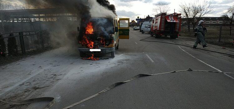У Сарнах під час руху загорівся автомобіль