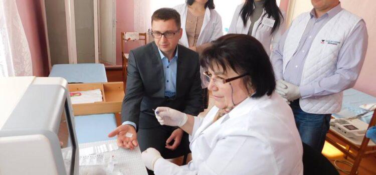 На Гощанщині для амбулаторії придбали сучасне медичне обладнання