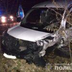У трьох ДТП на дорогах Рівненщині травмувалося семеро осіб