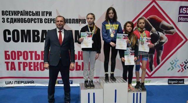 Рівненська спортсменка здобула перемогу на Всеукраїнських іграх «Combat Games»