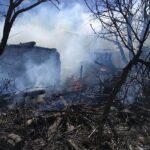 Гощанські вогнеборці ліквідували пожежу у приватному господарстві громадян