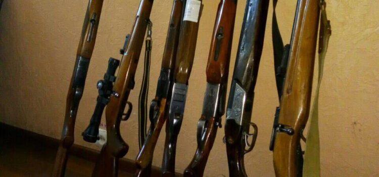 Жителі області видали до поліції майже дві сотні одиниць зброї