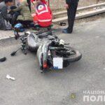 На Рівненщині внаслідок ДТП постраждав неповнолітній мотоцикліст