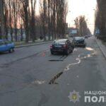 У Рівному в двох ДТП травмувалося троє осіб, пошкоджено п'ять авто